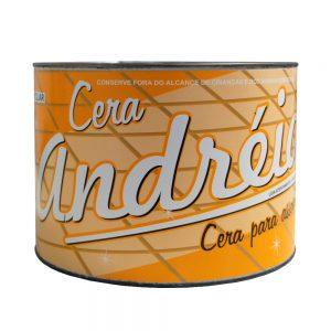 Cera Pasta Andréia Amarela 4,5 Kg