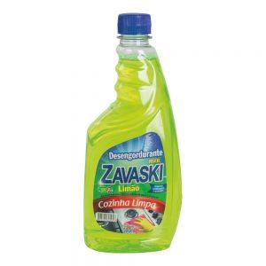 Desengordurante Zavaski Refil Limão 500ml