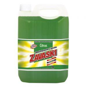 Desinfetante Zavaski Citrus 5L