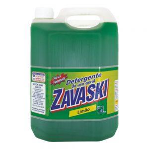 Detergente Zavaski Limão 5L