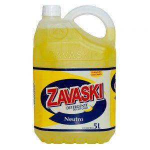 Detergente Zavaski Neutro 5L