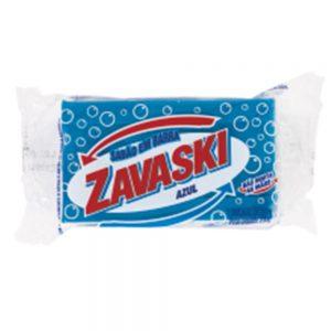 Sabão Barra Zavaski Azul 200g