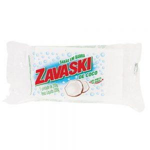 Sabão Barra Zavaski Coco 200g